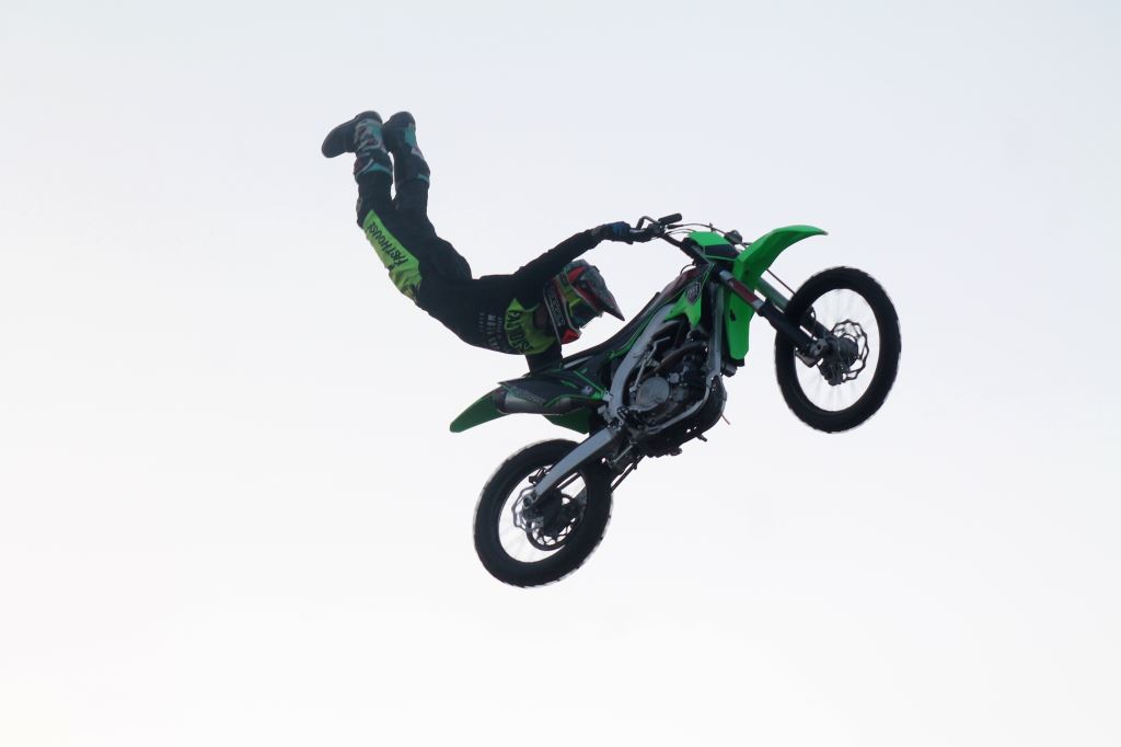 Broke FMX Motocross stunt team